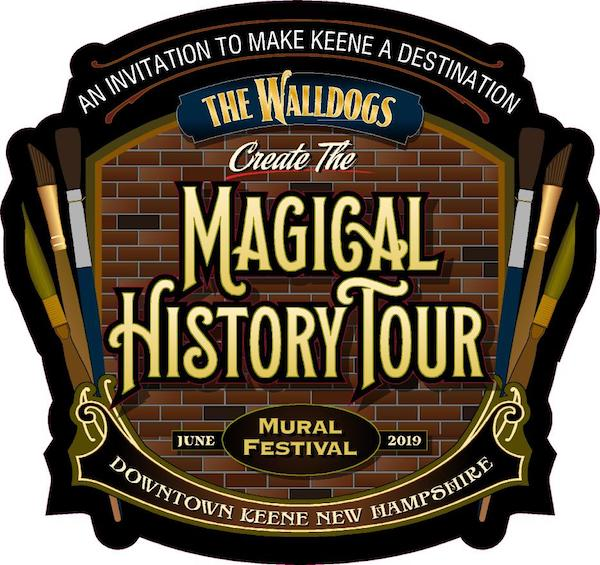Walldogs Magical History Tour logo