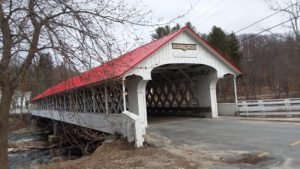 The Ashuelot Covered Bridge in Winchester