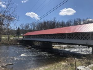 Ashuelot Covered Bridge in Winchester New Hampshire - one of the state's prettiest