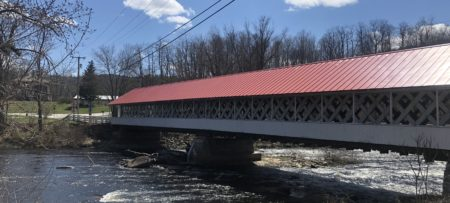 Ashuelot Covered Bridge in WInchester NH - one of New Hampshire's prettiest