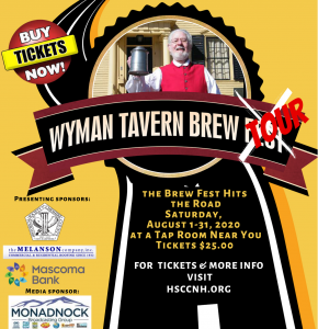 Ad for Wyman Tavern Brew Tour
