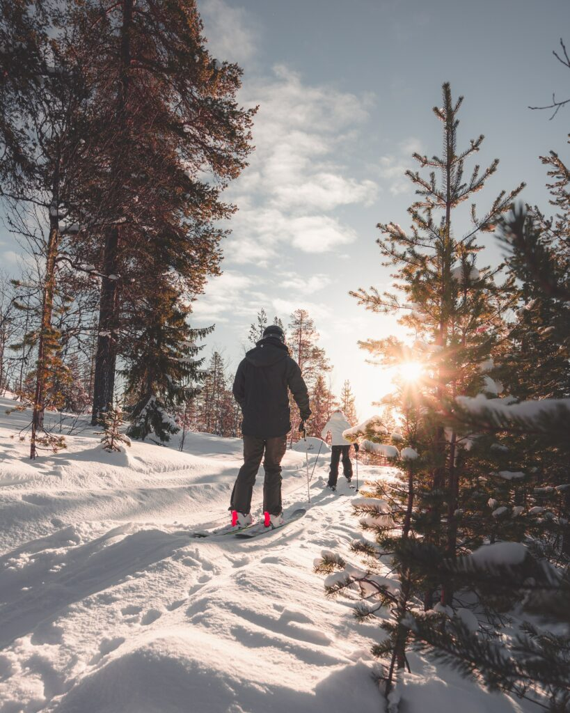 Cross-country skiing in New HAmpshire